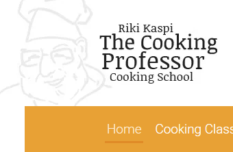 The cooking professor